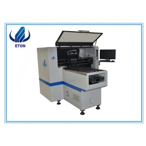 Economy Middle Speed 8 Heads ETON Led Pick And Place Machine PCB Pick And Place Machine Mounting Machine E6T
