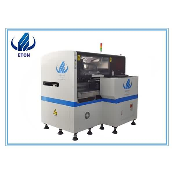 Wholesale On Line Smt Pick And Place Machine - High Precision Mounter 8 Heads Smt Pick And Place Machine Automatic Smd Mounter Vision Camera High Precision Smd Machine – Eton