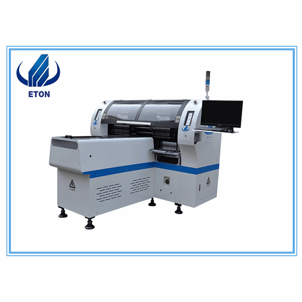 OEM/ODM Supplier Pcb Unloader For Smt - Chinese Professional Direct Best Selling Automatic Speed 34 Heads Multi-functional Smt Pick And Place Machine Led Chip Mounter – Eton
