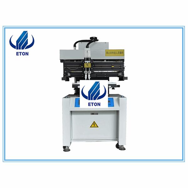 OEM Manufacturer Wave Soldering For Electronic - High Speed Semi-Auto Solder Paste Printer For Pcb Printing Machine Semi-Auto Solder Paste Screen Printer – Eton