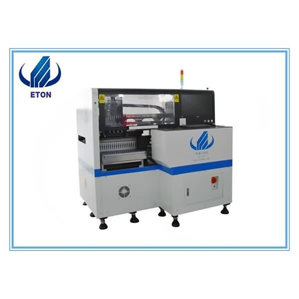 Newly Arrival Juki Led Chip Placement Machine - New 8 Heads SMT Pick And Place Machine With Electric Feeder SMD Led Mounting For Electric Board Power Driver Making – Eton