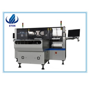 High-Quality Full Automatic 16 Heads Led Smt Chip Mounter, Smd Mounting Shooter Machine With Manufacturing Pcb E8t-1200