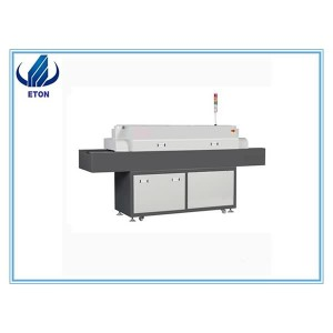 Digital Display With Programmable Reflow Welding Machine Programmable Reflow Oven Smt 5 Zones Reflow Oven