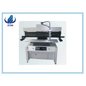 Good Performance Good Accuracy 1.2m Solder Paste Stencil Printer Semi-Automatic Printer