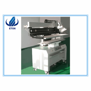 Semi-Auto Stencil Printer For PCB Printing 1.2m Semi-Auto Manufacturer Printer For SMT Line