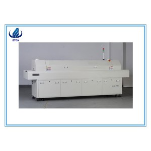 Hot Sell SMT Reflow Soldering Oven 6 Zones  Leadfree SMD Reflow Machine For LED PCB Line