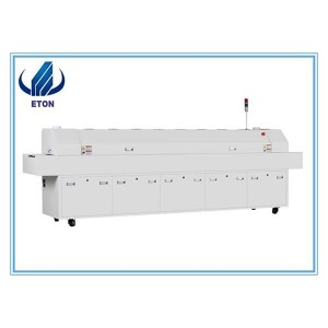 Refld Soldering Oven Machine Infrared Reflow Soldering Oven / Reflow Mgbala Sven SMT Hot ikuku Convection 8 Heating Zone