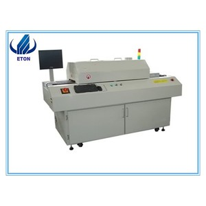 Hot Sell SMT Reflow saldatura Arco 6 suddivisioni Machine Leadfree SMD Reflow Per Line PCB LED