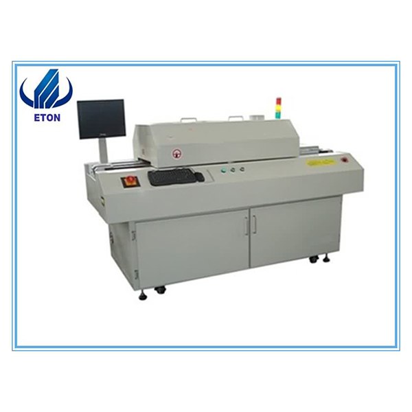 Hot Sell SMT Reflow Soldering Oven 6 Zones  Leadfree SMD Reflow Machine For LED PCB Line Featured Image