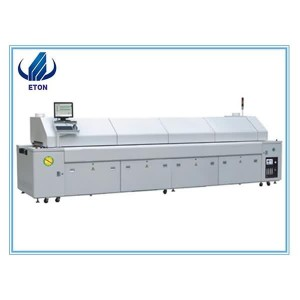LED ,SMT Reflow Oven For PCB , PCB Computer Chips Welding Machine Air Wave Station Led Soldering Oven