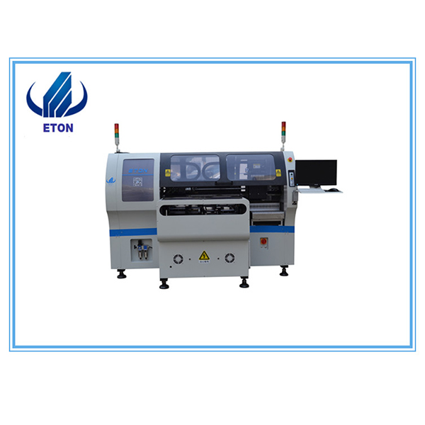 High Quality Led Ceiling Light Production Line - Fully-Automatic Pick And Place Machine Low Cost  Chip Mounter For Pcb Making Line Double Model Smd Moutning Machine – Eton