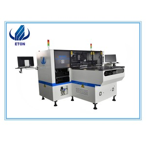 Automatic Smt Led Lamp Light Pick And Place Assembly Machine Production Line In Manufacturing Plant
