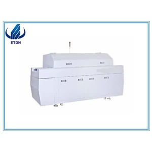 Stable And Reliable Electrical Control System Advanced Technology SMT Lead Free Reflow Oven 6 Zon