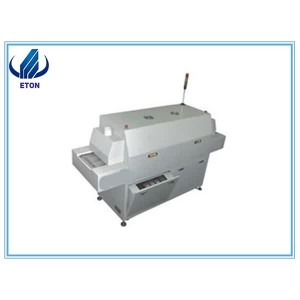 Sabit və etibarlı Electrical Control System Advanced Technology SMT Kurşunsuz Reflow Soba 6 Zon