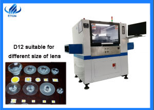Automatic glue dispenser machine for lens