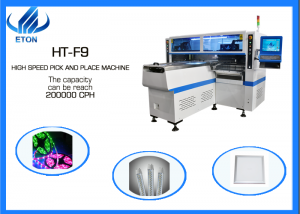 Led rigid PCB strip light pick and place machine HT-F9