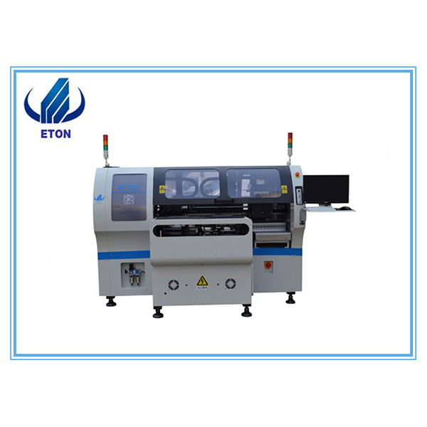 China Manufacturer for Vacuum Furnace Reflow Oven - Fully-Automatic Pick And Place Machine Low Cost  Chip Mounter For Pcb Making Line Double Model Smd Moutning Machine – Eton