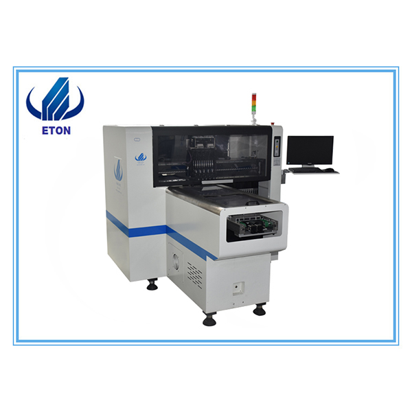 Hot-selling Wave Soldering Machine For Dip Line - Low Cost 8 Head Automatic Smt Led Pick And Place Machine Led Lamps Pcb Manufacturing Machine Tube Bulb Panel Strip – Eton
