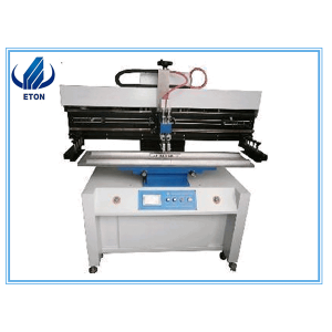 Digital Printers Smt Maşın 1200 * 300mm Semi-Auto High Precision Stencil Printer Screen Printer Machine