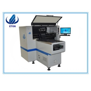 Small Manufacturer Smt Pcb Mounting Machine E6T With 20 Feeder 8 Head Smt Pick And Place Machine