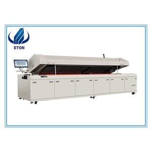 Ngwọta zuru ezu SMD na SMT Production Line Pick Ma Ebe Machine, Reflow Oven, Stencil Printer, Conveyo