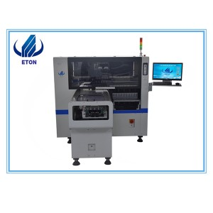 Automatic Pick And Place Machine Led Lamp Manufacturing Machinery Fast Smt Automatic PCB Pick 8 Heads PCB Pick And Place