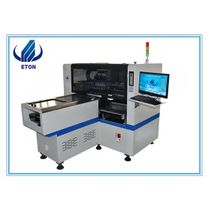 Economy Middle Speed 8 Heads ETON Led Pick And Place Machine PCB Pick And Place Machine Mounting Machine E6T