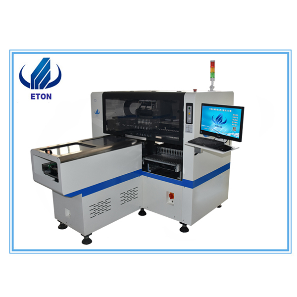 Manufacturing Companies for Pcb Laser Curve Depanelizer Separator - Economy Middle Speed 8 Heads ETON Led Pick And Place Machine PCB Pick And Place Machine Mounting Machine E6T – Eton