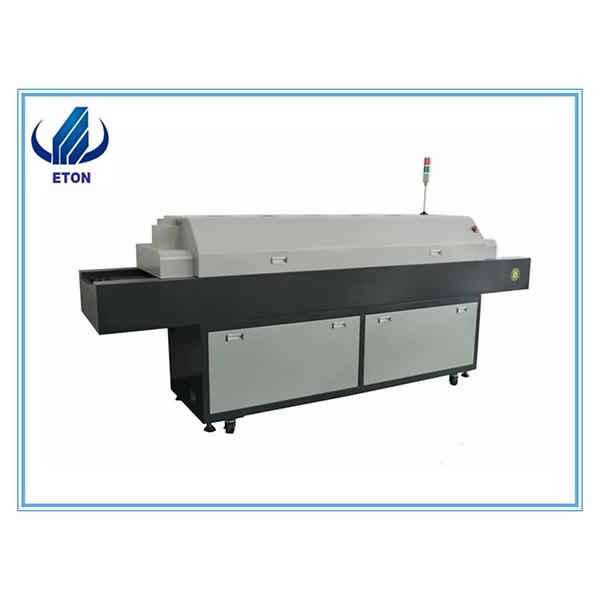 Manufacturing Companies for Smd Led Chip Mounter - LED Reflow Oven, 5 Heating Zone Soldering Machine For LED Assembly Line  – Eton