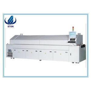 2018 New Low Consumption Soldering Reflow Oven SMT High Quality And High Vacuum Furnace Reflow Oven For PCB
